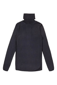 Midnattsblå CATHRINE HAMMEL - Merino Turtleneck Dark Ink Blue
