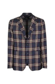 Large checked jacket blazer
