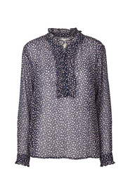 Lollys Laundry Dames 19157 5049 Franka Blouse Paars / Print