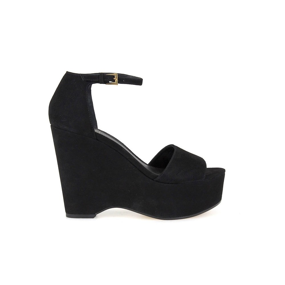 CLAIRE MID WEDGE SANDALS
