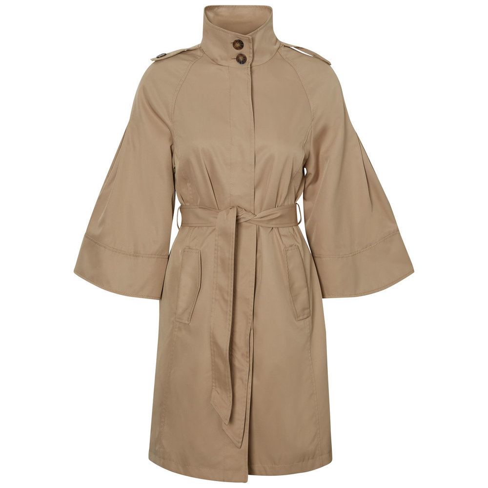 Trenchcoat 3/4 Sleeved