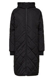 Maddy coat black