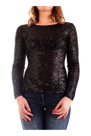 FRACOMINA FR20SP502 Long sleeve Women BLACK