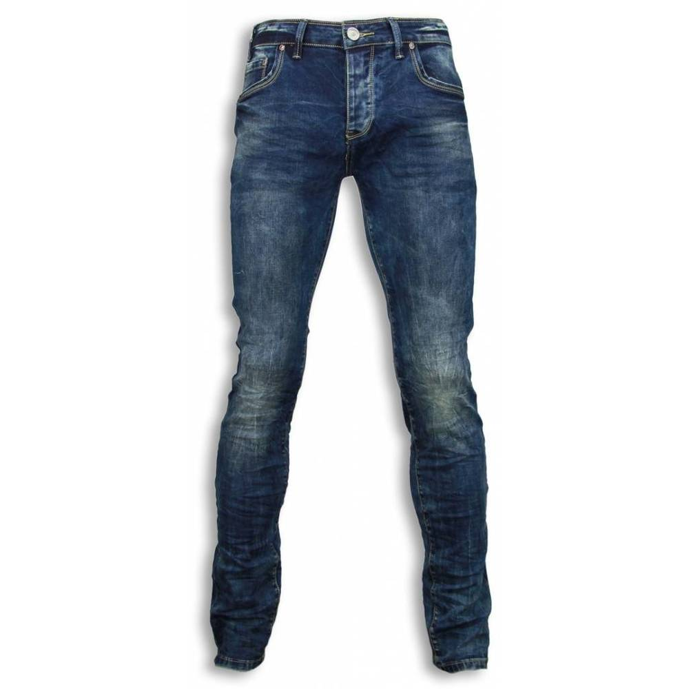 Basic Jeans - BLue Washed Regular Fit