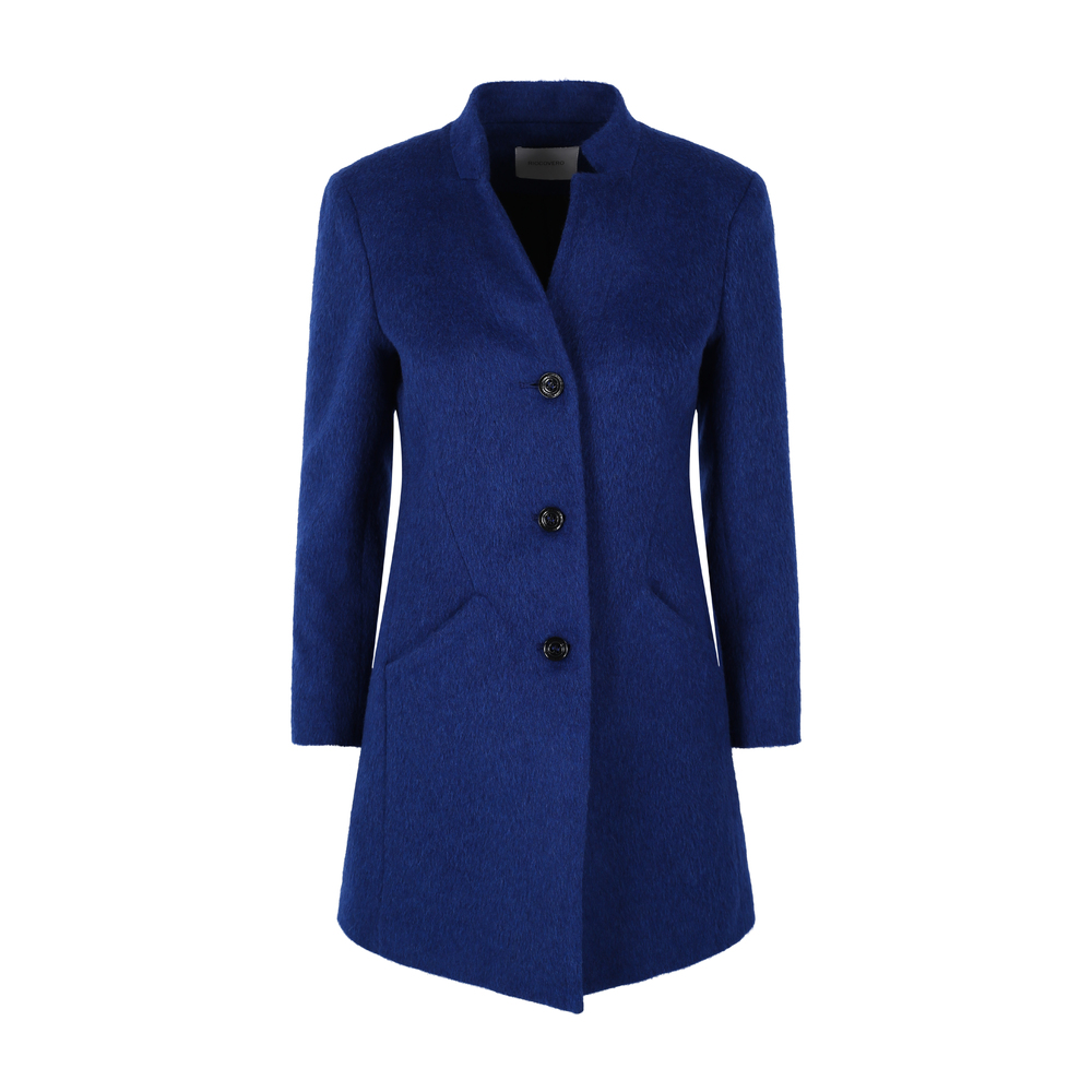 Royal Blue Dame Cashet Coat Coat