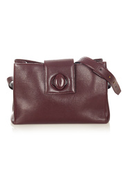 pre-owned Must de Cartier Leather Crossbody Bag Leather Calf