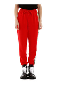 Raine trousers with check insert