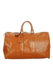 Pre-owned Epi Keepall 45 Leather