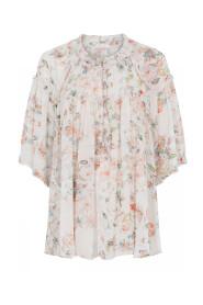 Amber Chiffon Shirt Skjorter 41600/7376  Pearl W. Bright