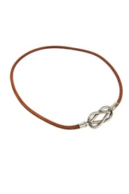 Barenia Leather Atame Choker