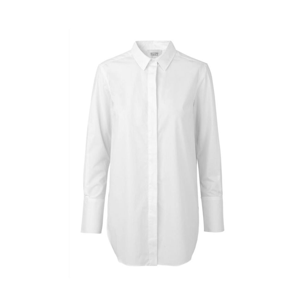 White Classic Shirt  Second Female  Skjorter - Dameklær er billig