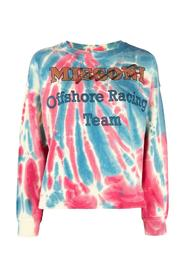 Tie Dye Sweatshirt with Print