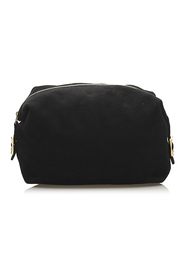 Pre-owned Clutch Bag Leather Suede