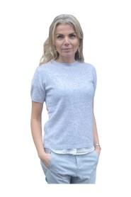 Helene Short Sleeve Cashmere