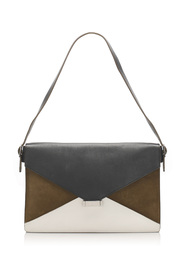 Diamond Leather Shoulder Bag