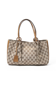 Thin Strap Tote with Pouch