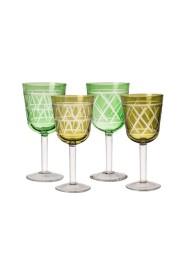 Wine Glass Tie up Set 4
