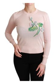 Kwiatowy pulower z kaszmiru
