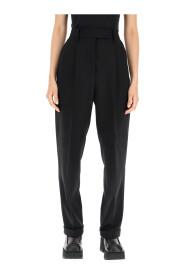 light wool trousers