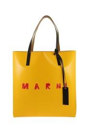 Dwukolorowe ZAKUPY torba z przodu logo