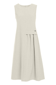 Airy sleeveless midi dress