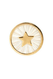 Guidance Coin Ivory Gold Ring
