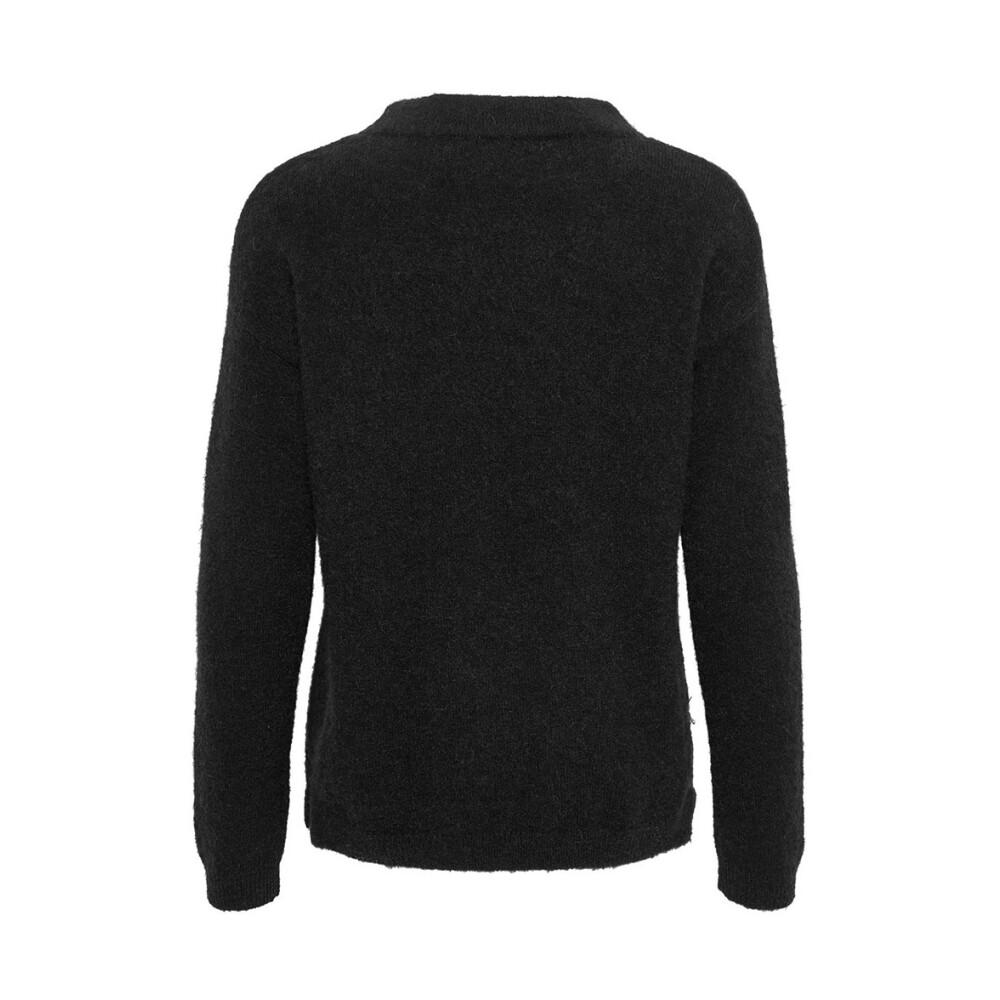 Black Papina Pullover Genser | InWear | Strikkejakker & -gensere | Gensere Og Cardigans Til Dame
