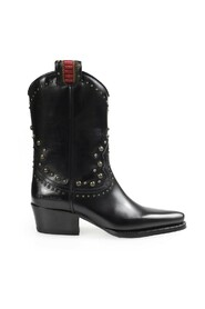 West Studs heeled ankle boots