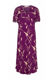 Graphic-print Maxi dress