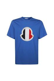 Flag Logo Printed T-Shirt