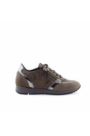 4819 dames sneakers taupe