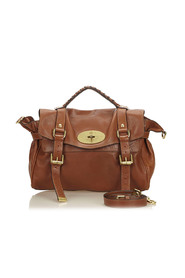 Leather Alexa Satchel