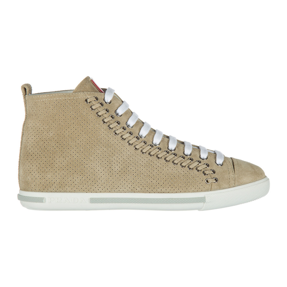 Shoes high top suede trainers sneakers
