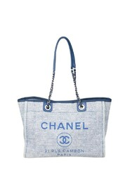 Pre-owned Small Tweed Deauville Tote