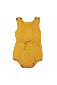 Honey gold MeMini Dante romper