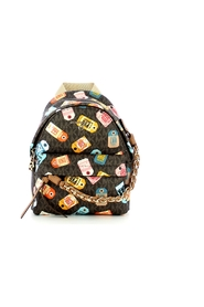 Slater XS backpack with print