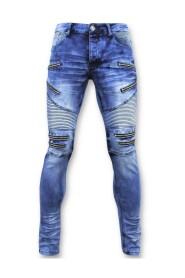 Jeans - Biker Jeans Zip - 3025