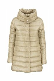 AMELIA - Down jacket with ring collar