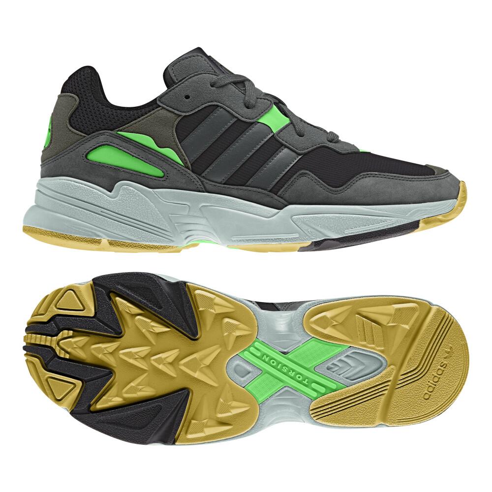 Mørkegrønn Adidas Sko Yung 96