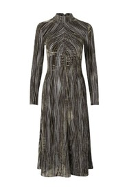 Velvet Devoré klänning