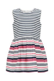 Dress striped cotton