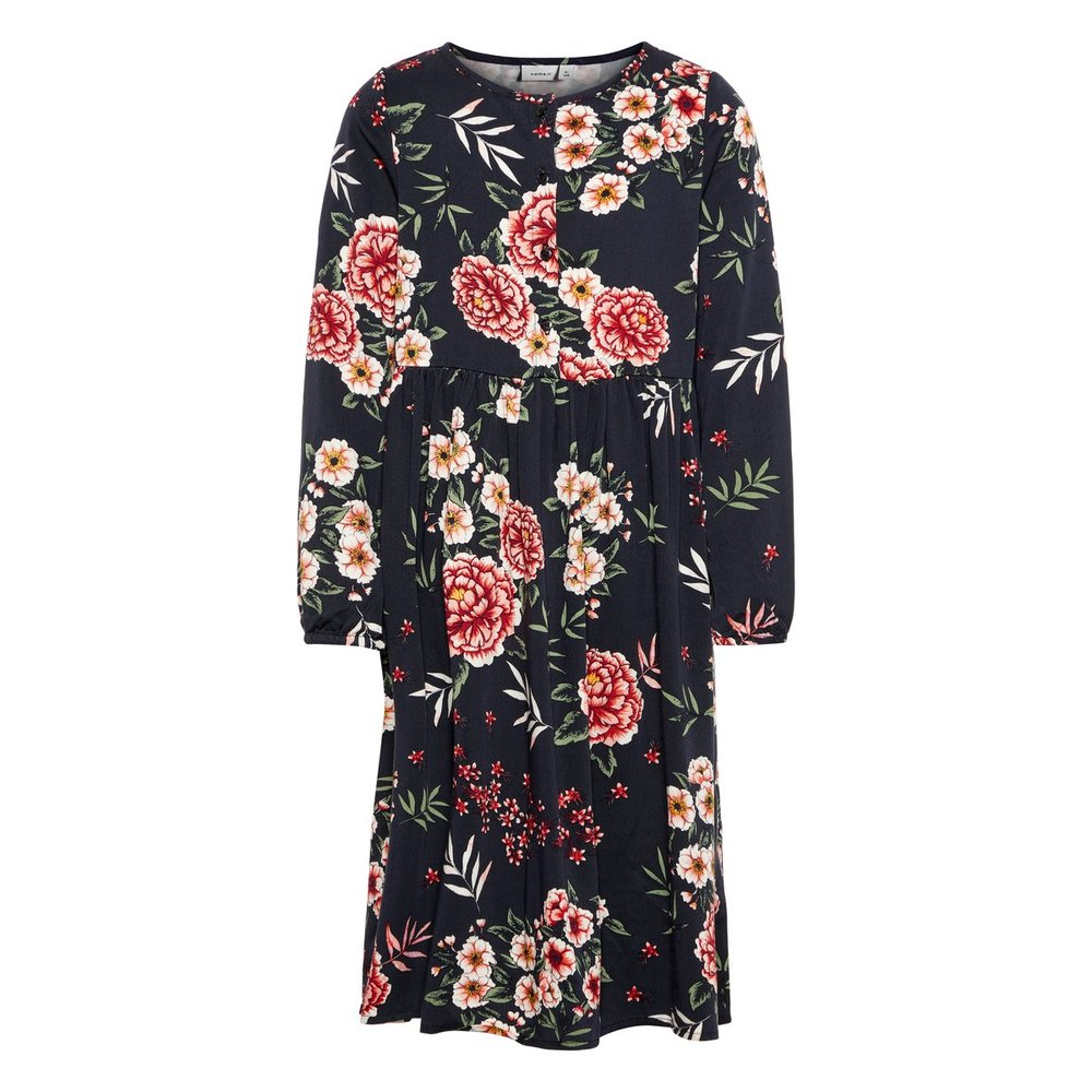 Dress long floral printed