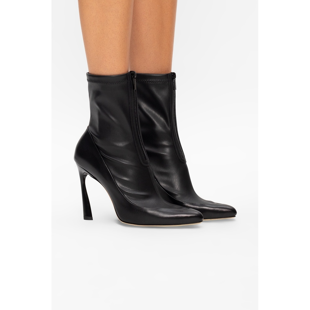 Jimmy Choo Black 'Brax�?heeled ankle boots Jimmy Choo