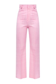 Sauge pleat-front trousers