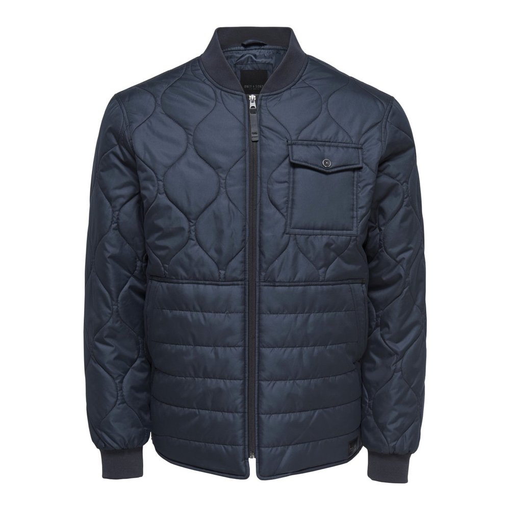 Quilted jacket Solid colored