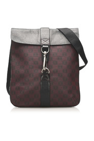 Printed Anagram Leather Crossbody Bag
