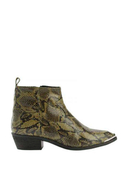 EMORY SNAKE Ankle Boots