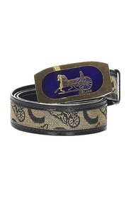 Carriage Leather Belt