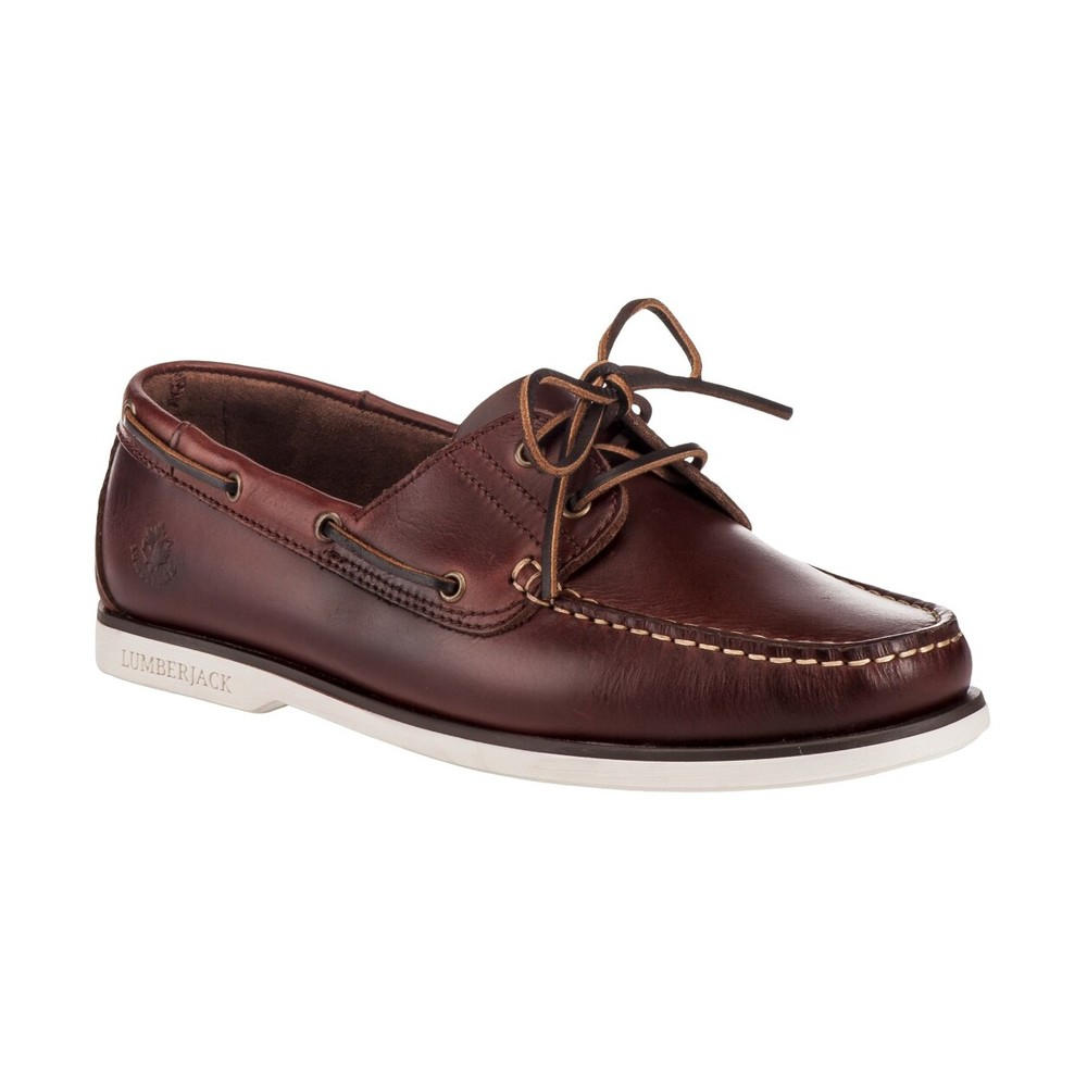 LUMBERJACK NAVIGATOR SM07804 005 LOAFER AND SLIPPERS Men BROWN