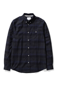 Anton Brushed Flannel Check Skjorte